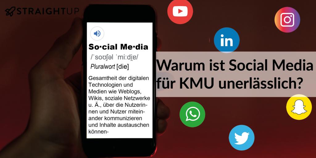 Warum ist Social Media für KMU unerlässlich?